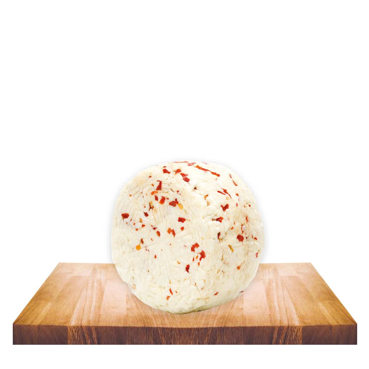 Formaggetta ovina al peperoncino gr 400 ca