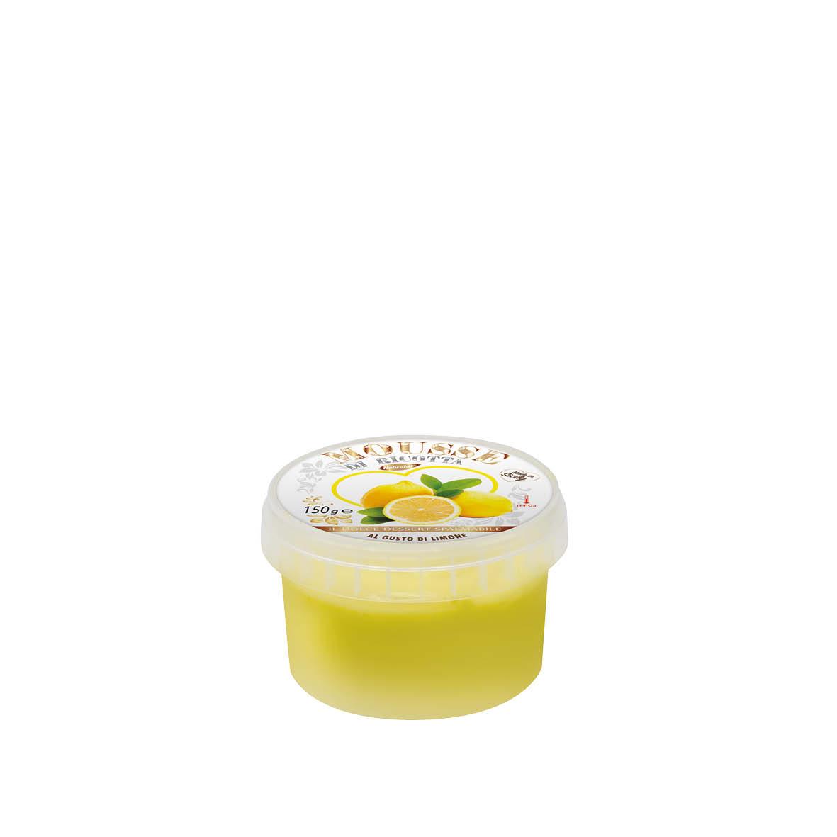Mousse di Ricotta al Limone gr 150℮